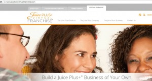 What is the Juice plus scam website