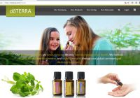 DoTerra essential oils scam website